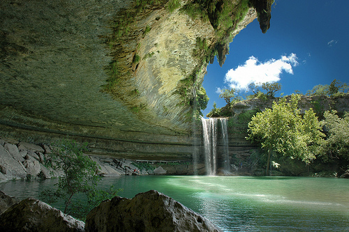 Hamilton Pool Preserve in Austin, Texas  -Picturesque waterfall tourism destinations