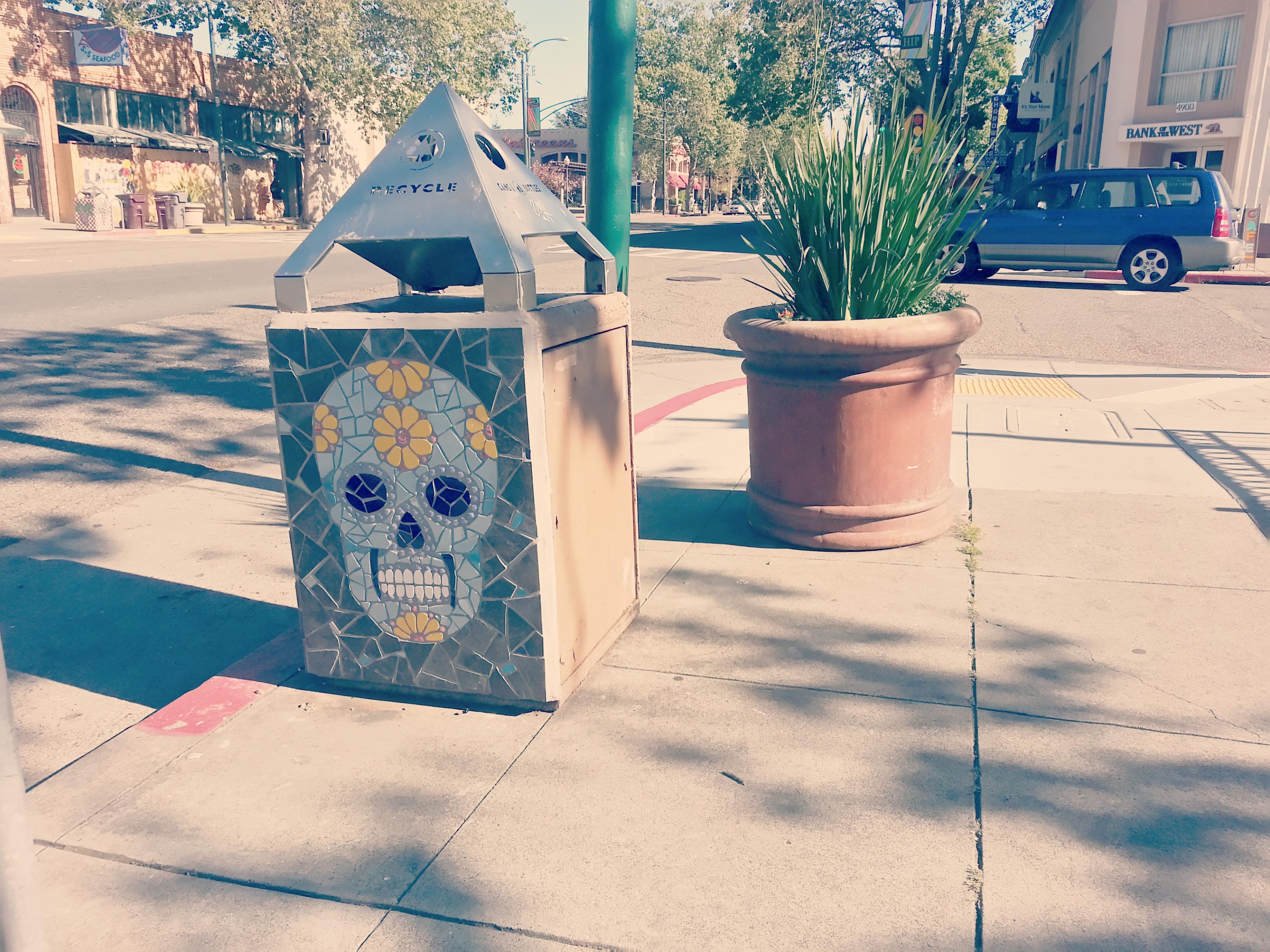Temescal Recycling Can, Oakland, California