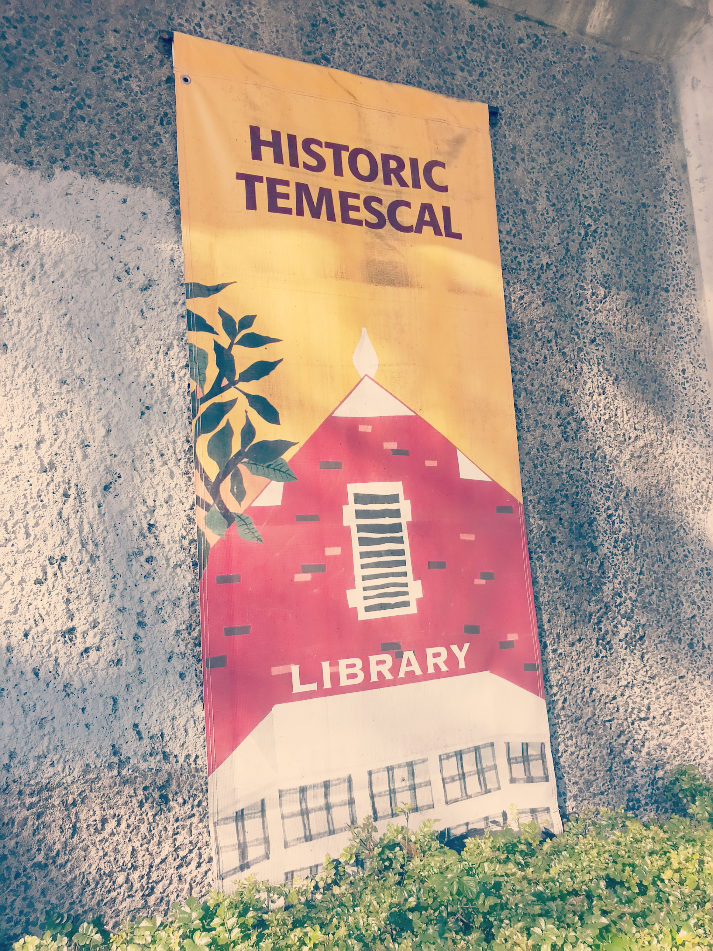 Historic Temescal Library, Oakland, California