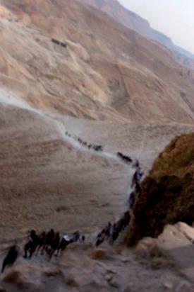 Masada's Roman Path