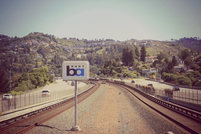Rockridge BART Station, Oakland, California