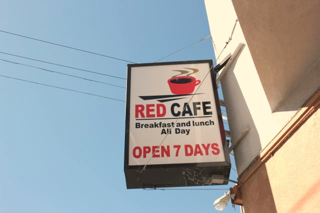 Red Cafe in the Mission District, San Francisco