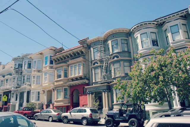Victorian Homes in the Haight