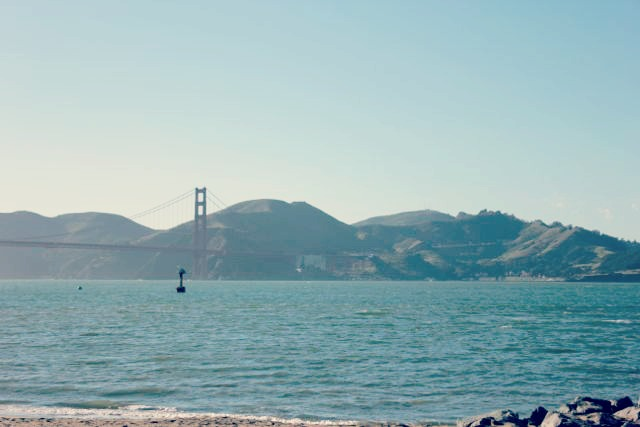 View of Marin County from Crissy Field