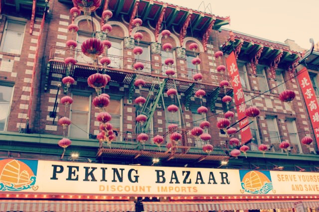 Chinatown Lanterns, Peking Bazaar