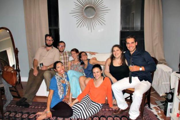 Friends from Israel Reunite in Brooklyn