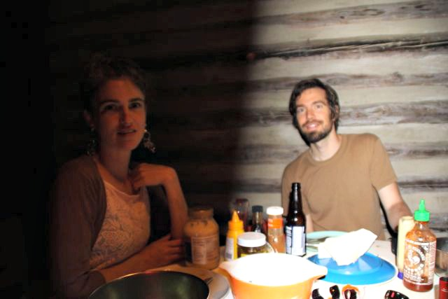 Dinner with the Bowerbirds