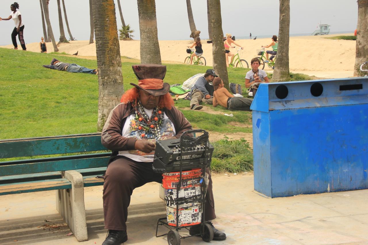 Venice Beach Weirdo