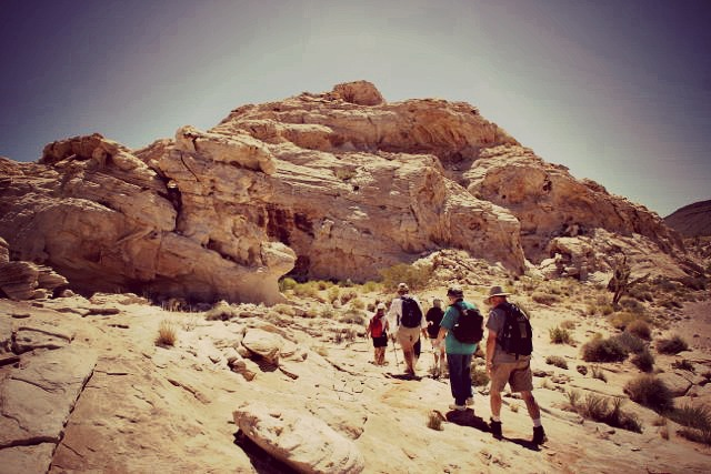 Hiking in Gold Butte